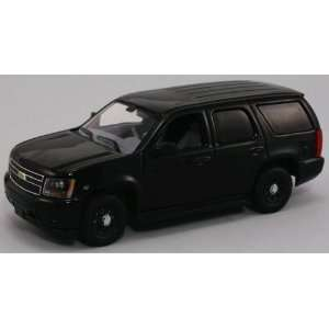 First Response 1/43 Chevy Tahoe Police SUV   Plain Black