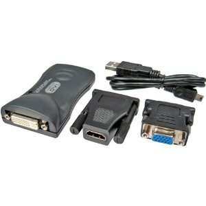 New PC to TV USB 2.0 Multi Display To DVI, VGA And HDMI