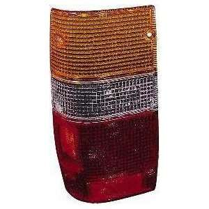 87 93 DODGE RAM 50 PICKUP d50 TAIL LIGHT LH (DRIVER SIDE) TRUCK, Lens