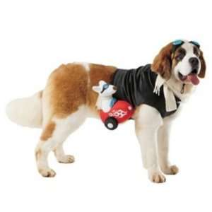 Dog Sidecar Rider Costume Pet Rider Large 25 50 Pounds