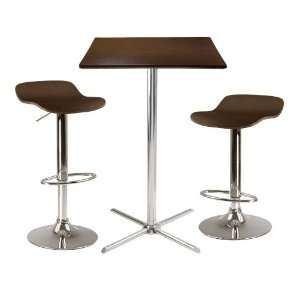 Winsome Wood Kallie 3pc Pub Table and Stool Set