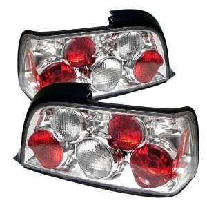 92 98 BMW E36 3 Series 2Dr Euro Taillights   Chrome