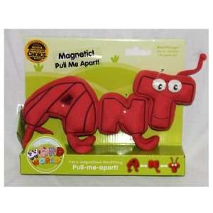 ANT WordWorld WordFriends Words Magnetic Plush Toy Toys & Games