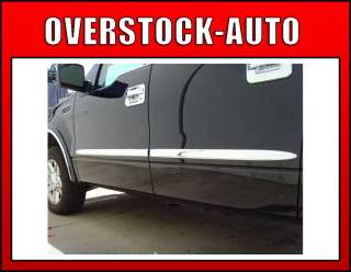 2004 2008 FORD F 150 CREW CAB CHROME BODY SIDE MOLDING