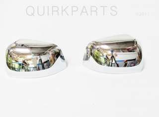 2011 2012 Jeep Grand Cherokee Mirror Covers Set CHROME MOPAR OEM