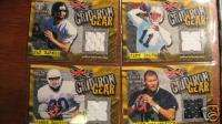 XFL GRIDIRON GEAR JAMES BOSTIC JERSEY CARD 2001