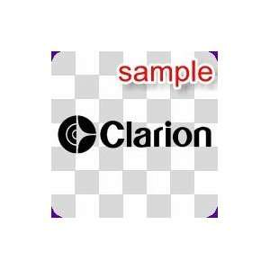 RANDOM CLARION 10 WHITE VINYL DECAL STICKER