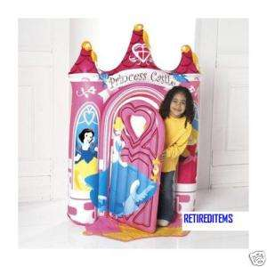 Princess INFLATABLE ENCHANTED CASTLE DOOR frame + door 59H 42W 9D