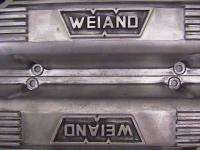 Weiand FE Ford Tall Aluminum Valve Covers