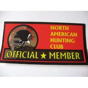 North American Hunting Club Official Member (Sticker