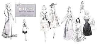 Vintage Mix & Match Barbie Fashion Doll Pattern Vol. 1