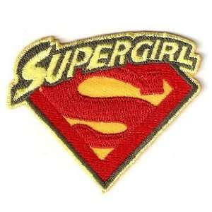 Supergirl Girl Superman Embroidery Iron on Patch Applique