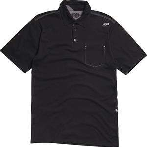 Fox Racing Outfoxed Polo   X Large/Black Automotive