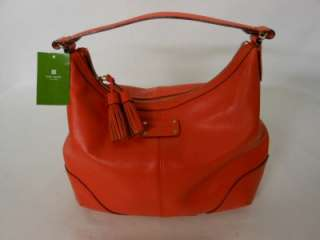 NWT $295 Kate Spade Orange LORI STRATFORD Hobo Handbag NEW & AUTHENTIC
