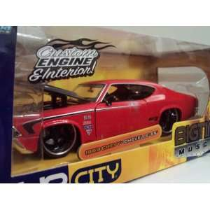 Racing 1969 Chevy Chevelle SS 124 Scale Die Cast Car Toys & Games