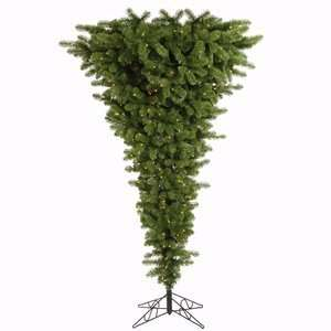 78 Green Upside Down 1,000 Clear Lights Christmas Tree (A107481