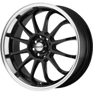 Maxxim S906 Black Wheel with Machined Lip (17x7/5x100mm