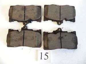 15 TOYOTA SET BRAKE PADS 04465 30400 OEM ORIGINAL