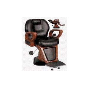 Woodgrain Professional Hydraulic Barber Chair (Black) Beauty