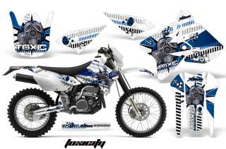 AMR RACING DECAL MOTO GRAPHIC KIT SUZUKI DRZ 400 DRZ400 KLX400 DRZ400S