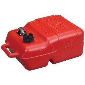 Moeller Scepter Topside Marine Fuel Tank with Gauge (6.6 Gallon