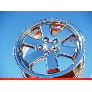 Prius Set of 4 genuine factory 15inch chrome wheels Automotive
