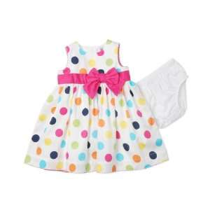 Carters Baby Dress, Baby Girls Polka Dot Dress white 3 months Baby