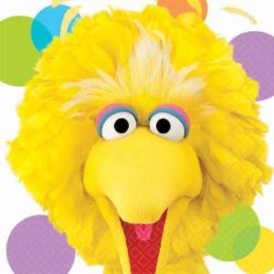By Amscan Sesame Street Party Big Bird Lunch Napkins