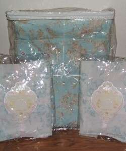 NIP Rachel Ashwell Shabby Chic TM Queen Duvet and 2 X Boudoir Cases