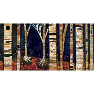 GreenBox Art Birch Trees Wall Art 72x36