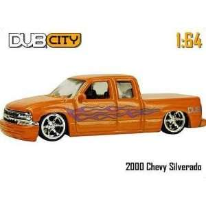 Dub City 164 2000 Chevy Silverado Toys & Games