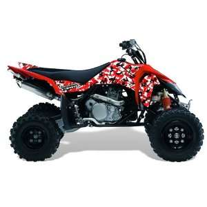 AMR Racing Suzuki LTR 450 2005 2011 ATV Quad Graphic Kit   Urban Camo