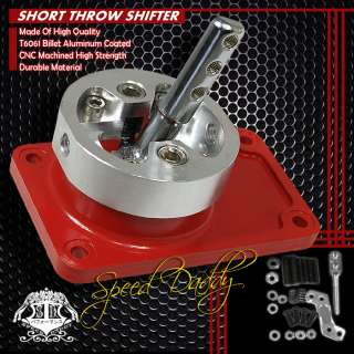 BILLET ALUMINUM MT RACING SHORT THROW SHIFTER 83 04 FORD MUSTANG