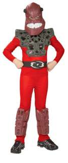 Child Small Bionicles Red Piraka Costume   Authentic Bi