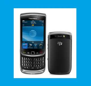 NEW BLACKBERRY AT&T Torch 9800 Black Slider 3G 5MP 4GB GPS WIFI PDA