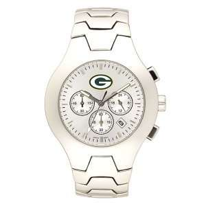 Green Bay Packers Mens NFL Hall of Fame Chronograph Watch (Bracelet