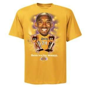 Kobe Bryant Youth Big Season, Bigger Head Los Angeles Lakers T Shirt