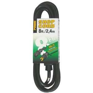 Prime Wire & Cable EC502608 8 Foot 16/3 SJTW Indoor and