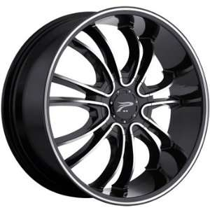 Platinum America 22x9 Black Wheel / Rim 5x115 & 5x5.5 with