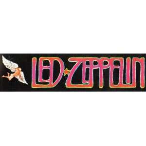 Led Zeppelin Swan Song Bumper Sticker Vintage Everything