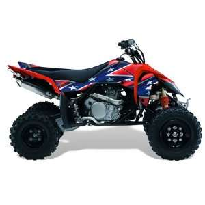 AMR Racing Suzuki LTR 450 2005 2011 ATV Quad Graphic Kit   Rebel Red