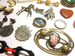 INCREDIBLE BIG LOT VICTORIAN ART DECO JEWELRY $❶NR