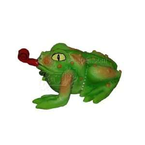 Latex Squeeze Meeze Frog Jr Dog Toy