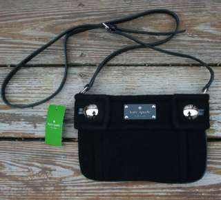 NWT Kate Spade Fox Chapel Winnie Purse Crossbody Shoulder Bag Black