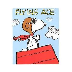 Snoopy Flying Aces Blanket