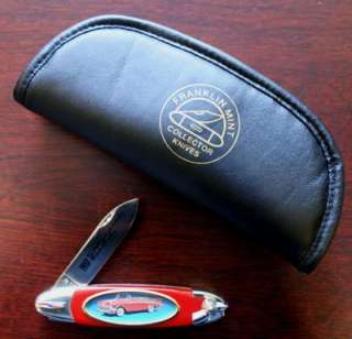FRANKLIN MINT 1957 Chevrolet Pocket Knife with Case