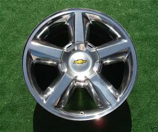 OEM Chevy Tahoe Suburban POLISHED 20 in Wheel Rim 5308