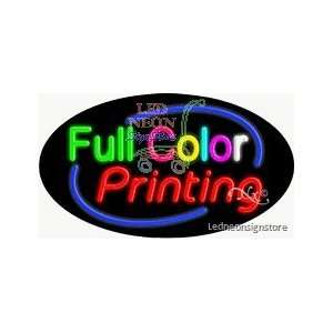 Full Color Printing Neon Sign 17 inch tall x 30 inch wide x 3.50 inch