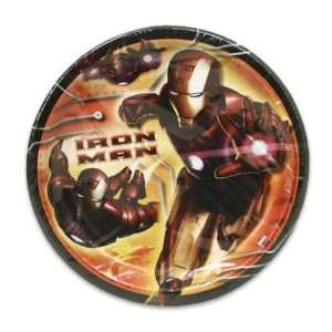 Dinner Plate 8 Count Iron Man Case Pack 60 Everything