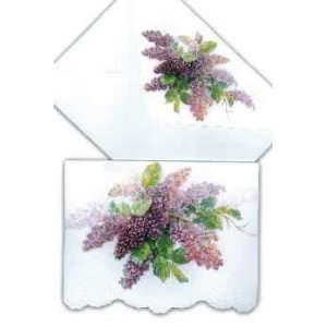 Lilac   Stationery Note Cards & Envelopes